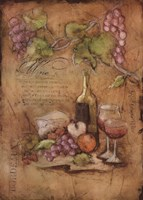 Bordeaux Blanc Fine Art Print