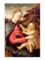 The Virgin and Child (Madonna of the Guidi da Faenza) c.1465-70 by Sandro Botticelli - various sizes