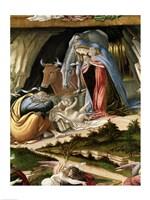 Mystic Nativity, 1500 (detail 2) Fine Art Print