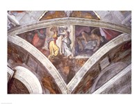 Sistine Chapel Ceiling: Judith Carrying the Head of Holofernes Fine Art Print