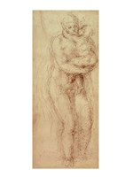 Madonna and Child by Michelangelo Buonarroti - various sizes