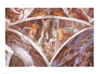 Sistine Chapel Ceiling: Haman Fine Art Print