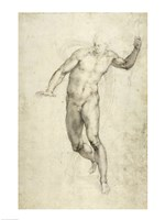 Study for The Last Judgement by Michelangelo Buonarroti - various sizes