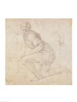 Inv. 5211-75 Fawkener Recto by Michelangelo Buonarroti - various sizes - $16.49