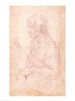 W.40 Sketch of a female figure by Michelangelo Buonarroti - various sizes