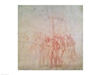 Inv. 1895 6-15-500. R. (W.15) The Flagellation of Christ by Michelangelo Buonarroti - various sizes - $16.49