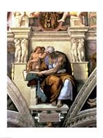 Sistine Chapel Ceiling: Cumaean Sibyl, 1510 Fine Art Print
