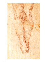 Study for a Crucifixion Fine Art Print