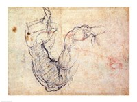 Preparatory Study for the Arm of Christ in the Last Judgement-41, 1535 by Michelangelo Buonarroti, 1535 - various sizes - $16.49