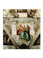 Sistine Chapel Ceiling, 1508-12 Fine Art Print