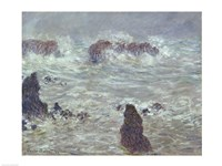 Storm, off the Coast of Belle-Ile, 1886 by Claude Monet, 1886 - various sizes