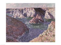The Rocks of Belle Ile, 1886 by Claude Monet, 1886 - various sizes - $16.49