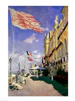 The Hotel des Roches Noires at Trouville, 1870 Fine Art Print