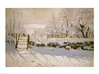 The Magpie, 1869 by Claude Monet, 1869 - various sizes - $29.99