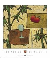 Tropical Repast I Fine Art Print