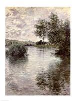 The Seine at Vetheuil, 1879 Fine Art Print