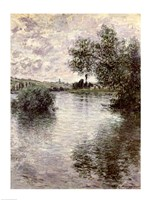 The Seine at Vetheuil, 1879 Fine Art Print