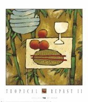 Tropical Repast II Fine Art Print
