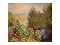 A Corner of the Garden at Montgeron, 1876-7 Fine Art Print
