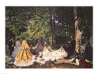 Le Dejeuner sur l'Herbe, 1866 by Claude Monet, 1866 - various sizes