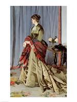 Portrait of Madame Louis Joachim Gaudibert, 1868 Fine Art Print