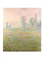 Meadows in Giverny, 1888 Fine Art Print