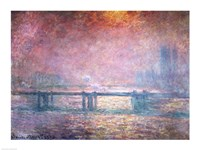 The Thames at Charing Cross, 1903 Fine Art Print