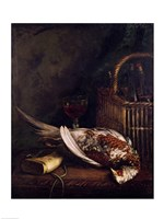 Still Life with a Pheasant, c.1861 Fine Art Print