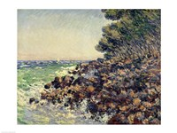 Cap Martin, 1884 by Claude Monet, 1884 - various sizes