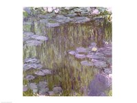 Nympheas at Giverny, 1918 Fine Art Print
