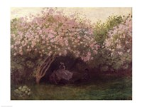 Lilacs, Grey Weather, c.1872-73 Fine Art Print