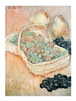 The Basket of Grapes, 1884 Fine Art Print