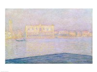 The Ducal Palace from San Giorgio, 1908 by Claude Monet, 1908 - various sizes