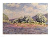 The Seine at Port-Villez, c.1890 Fine Art Print