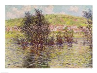 Vetheuil, View from Lavacourt, 1879 Fine Art Print