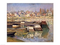 Seine at Asnieres, 1873 Fine Art Print