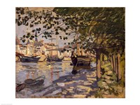 Seine at Rouen, 1872 Fine Art Print