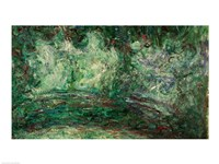 The Japanese Bridge, detail-19, 1918 by Claude Monet, 1918 - various sizes, FulcrumGallery.com brand