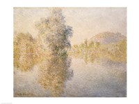 Early Morning on the Seine at Giverny, 1893 Fine Art Print