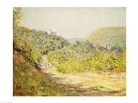 Aux Petites Dalles, 1884 by Claude Monet, 1884 - various sizes