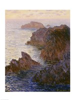 Rocky Point at Port-Goulphar by Claude Monet - various sizes - $15.99