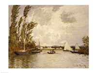 The Little Branch of the Seine at Argenteuil Fine Art Print