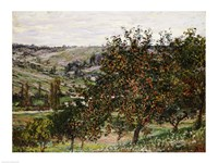 Apple Trees near Vetheuil Fine Art Print