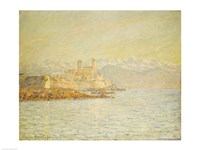The Old Fort at Antibes Fine Art Print