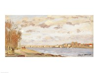 The Seine at Argenteuil, 1872 by Claude Monet, 1872 - various sizes