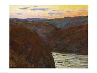 La Creuse, Sunset by Claude Monet - various sizes