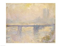 Charing Cross Bridge, 1903 by Claude Monet, 1903 - various sizes