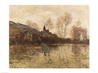 The Flood at Giverny, 1886 by Claude Monet, 1886 - various sizes