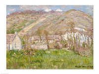 Hamlet on the Cliffs near Giverny, 1883 by Claude Monet, 1883 - various sizes