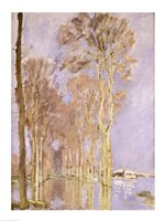 Flood by Claude Monet - various sizes